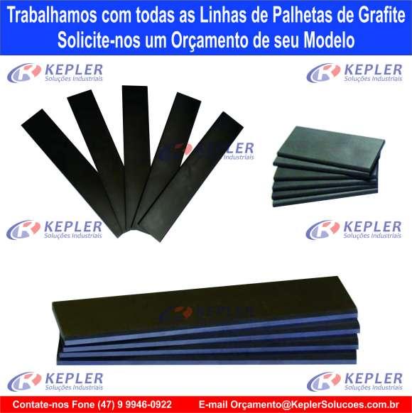 Palheta Grafite 170 x 39 x 4mm / Bomba Vácuo Becker Picchio 2200